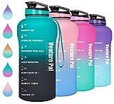 Venture Pal Half Gallon Motivational Water Bottle with...