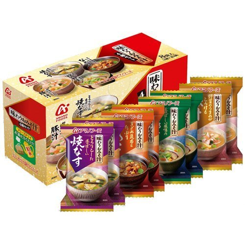 アサヒグループ食品『アマノフーズ 味わうおみそ汁 4種セット』