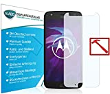 Slabo 3 x Premium Pellicola Protettiva in Vetro Temperato per Motorola Moto X4 Tempered Glass Crystal Clear Graffi Fino a 9H