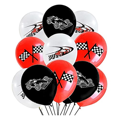Jjwlkeji Party Tableware Race Car Birthday Party Decoration Kids 130 * 220cm Tablecloth Paper Plates cup Baby Shower Party Decor Supplies (Color : 10pcs 12inch)