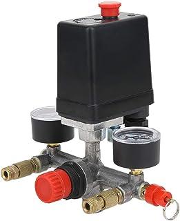 Drukschakelaar Compressor onderdelen Spruitstukregelaar Compressordrukschakelaar Visuele uitlezing voor luchtpomp