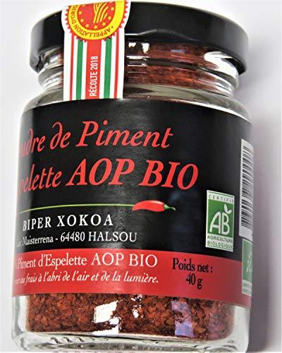 40g BIO Piment d'Espelette im Original AROMAGLAS -