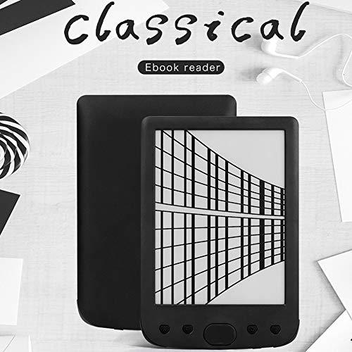 6-Zoll-E-Book-Reader, OURLITIME Wasserdichtes Papierweiß, USB 8G-Speicherlesegerät...