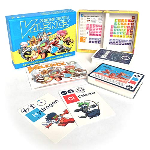 Science Ninjas Valence Card Game