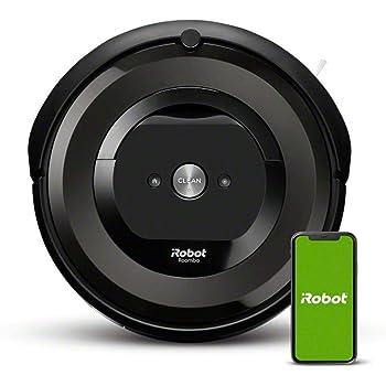 【ブラーバ 390jと同時購入で1万円OFF】ルンバ e5 アイロボット ロボット掃除機 水洗い ダストボックス パワフルな吸引力 WiFi対応 遠隔操作 自動充電 ラグ 絨毯(じゅうたん) にも e515060 【Alexa対応】