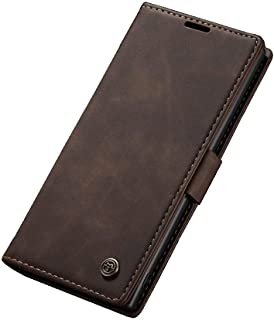 Flip Leather Case For Samsung Galaxy Note 10 Plus From CaseMe - Dark Brown