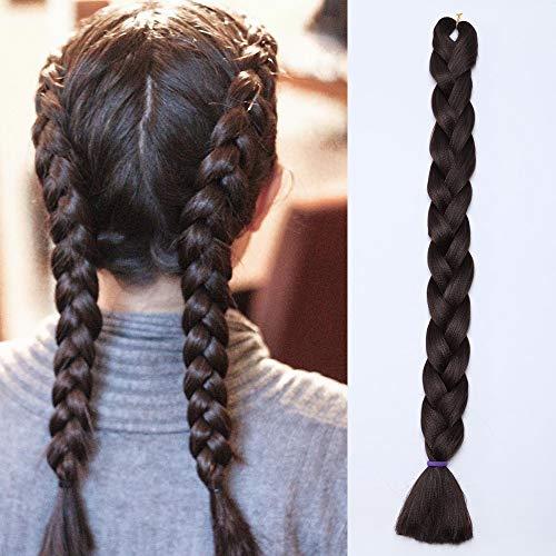 Braids Extensions Flechten Hair Extensions Jumbo Crochet Haar Kunsthaar Kanekalon Colorful 1pcs-41