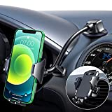VANMASS Upgraded Car Phone Mount 4.0,【Durable Plating】 Gooseneck Long Arm Cell Phone Holder for Car Truck, Dash/Windshield/Air Vent, Strong Suction Anti-Shake Stabilizer Compatible All Phones/Cases