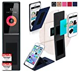reboon Hülle für Obi Worldphone SF1 Tasche Cover Case Bumper | Blau | Testsieger