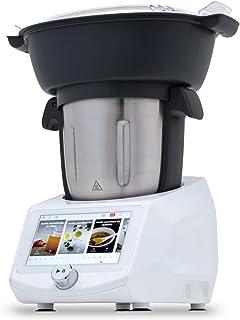 NEWCOOK - Robot de Cocina Multifunción ROBOTMIX RM990 con Wifi, 1400W, 3L, 12 Velocidades + Turbo, 8 Accesorios, 8 Program...