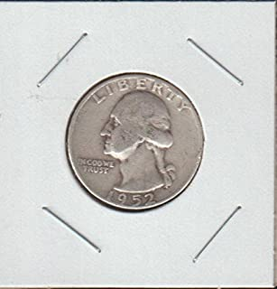 1952 D Washington (1932 to Date) Quarter Fine