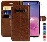 MONASAY Galaxy S10 Wallet Case, 6.1 inch [Included Screen
