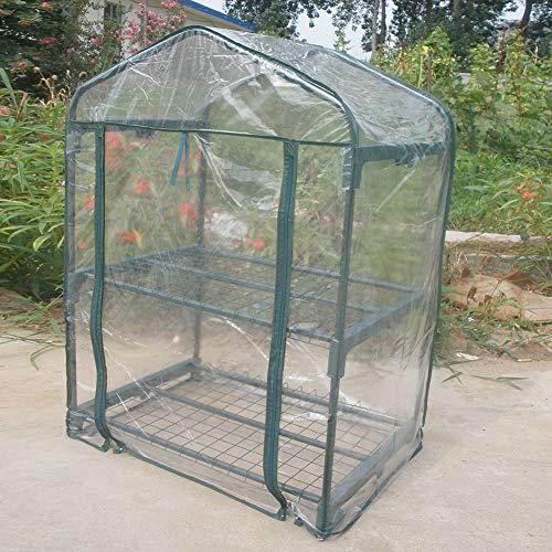 Atyhao Mini Portable Garden Green House Warm Greenhouse Flower Plants...