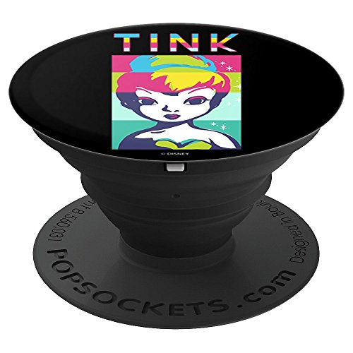 Disney Peter Pan Tinkerbell Color Block Of Tinks Face PopSockets Grip and Stand for Phones and Tablets