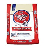 Suckle Pro Calf Milk Replacer with Probotics | Powdered Form Milk Replacer | Nutritional Supplement Supports a Healthy Gut, Growth and Development | 25 lbs