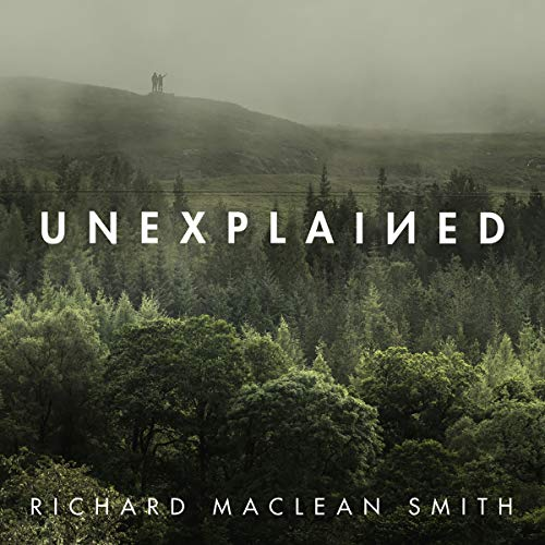Unexplained audiobook cover art