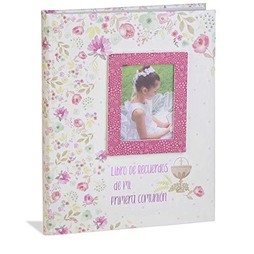 Busquets Libro comunion Musical con paspartu NIÑA Flores by