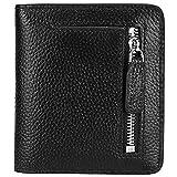 JEEBURYEE Womens Small Compact Leather Bifold Wallet RFID Blocking Ladies Wallet Mini Purse