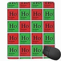 マウスパッド 化学の元素 ゲーミング オフィス最適 高級感 おしゃれ 防水 耐久性が良い 滑り止めゴム底 ゲーミングなど適用 マウスの精密度を上がる( 22*18*0.3cm )