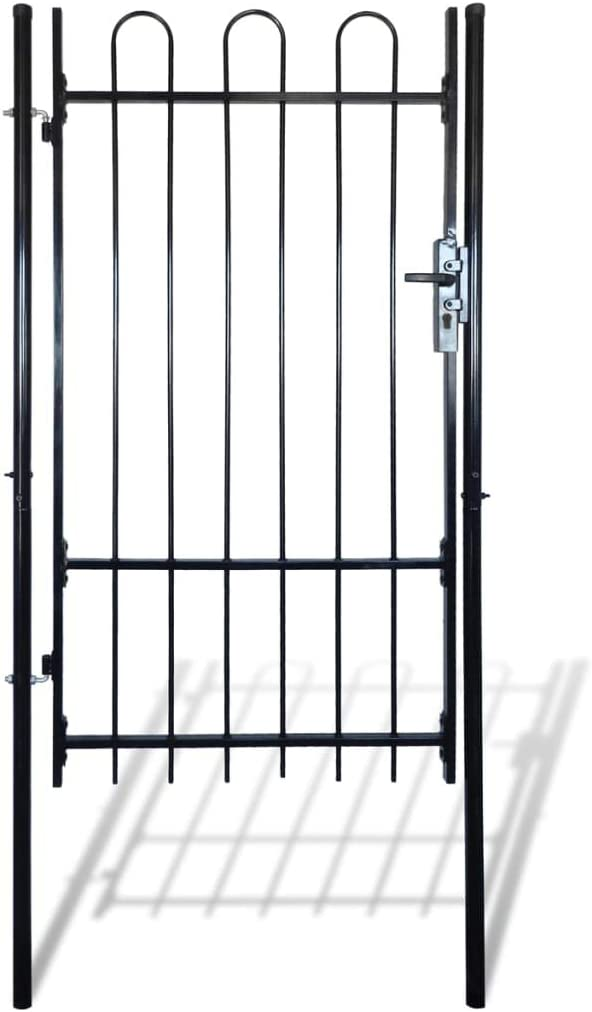 Fence Gate with Translated Hoop Top single OFFer 39.4