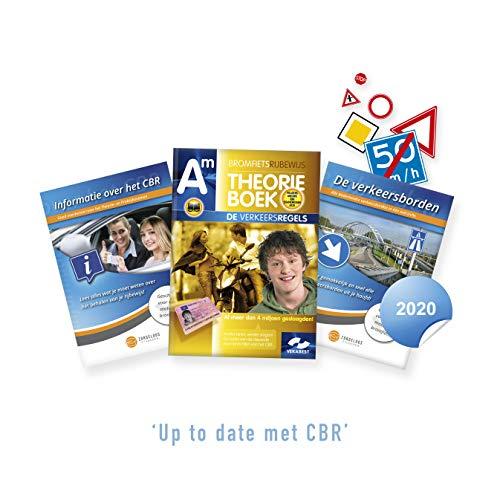 Bromfiets Theorieboek Rijbewijs AM Nederland 2020 - Scooter Theorie Leren en Oefenen + CBR Informatie en Verkeersborden