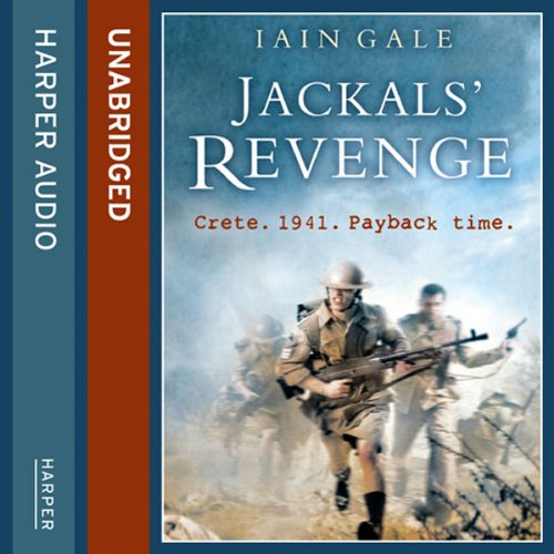 Jackals' Revenge audiobook cover art