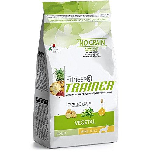 TRAINER Fitness 3 pflanzliche Erbsen + Kartoffeln 2kg Öl Kornfrei Hundefutter