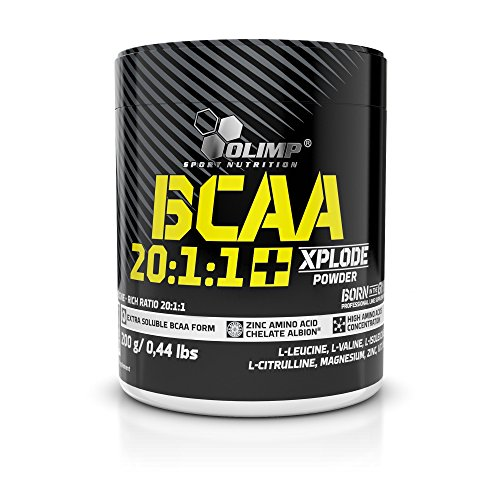 Olimp Nutrition Sport BCAA 20: 1 Xplode Powder, Pear, 200 g