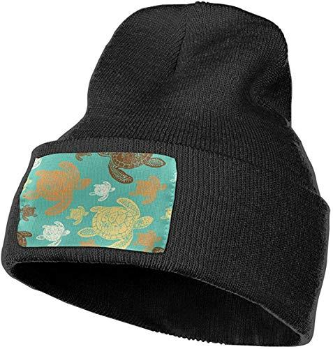 Voxpkrs Sea Turtles Men & Women Skull Caps Winter Warm Stretchy Knit Beanie Hats