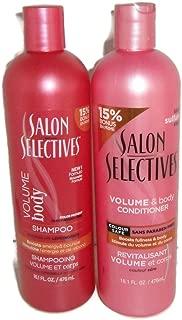 Salon Selectives Volume & Body Shampoo & Conditioner Set For Bouncy Full Hair