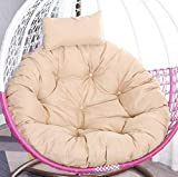 Sehrgud Papasan Chair Cushion Egg Chair Cushion Hanging Hanging Basket Cushion Swing Chair Cushion for Outdoor Garden Office Home