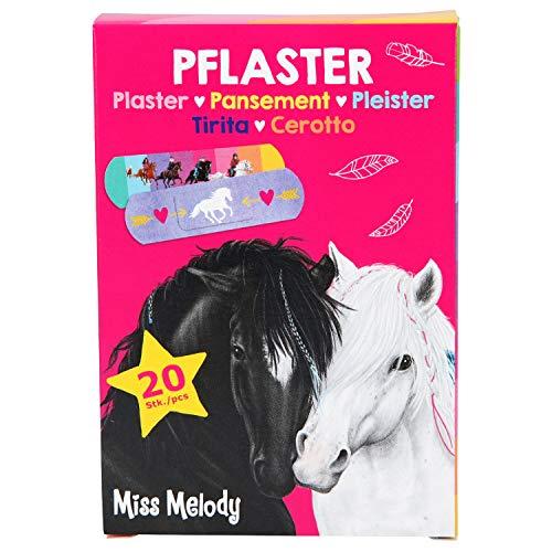 Djup 10731 plåster för barn, Miss Melody, 20 stycken, 2 x 7 cm