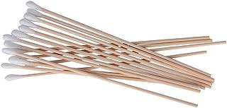 200 Pieces Wooden Handle Applicator Single Tip Long Cotton Swabs
