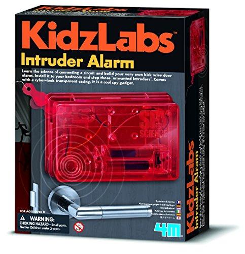 Kidz Labs – Spy Science – Alarma intrusora – Niños Niñas Niñas Niños – Agente Secreto – Regalo de Navidad de alta calidad regalo divertido juguetes y juegos Idea de edad 8 años +