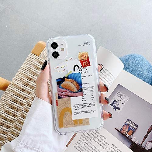 Wyalm INS Funny Label Barcode Art David Estatua Estatua Funda telefónica para iPhone 12 11 Pro XS MAX XR X 8 7 Plus Soft Silicon TPU TPU Back Cover Coque (Color : 06, Size : Iphone12 Pro)