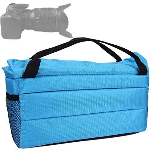 FOLOSAFENAR Stoßfeste Kameratasche Stoßfest, für Fotokameras(Blue)