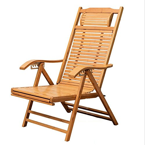 LYZZDY Yxsd bamboe schommelstoel, oude lunchpauzestoel, stevige houten schommelstoel, luxe stoel, lichte stoel