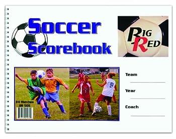 Big Red Soccer Scorebook