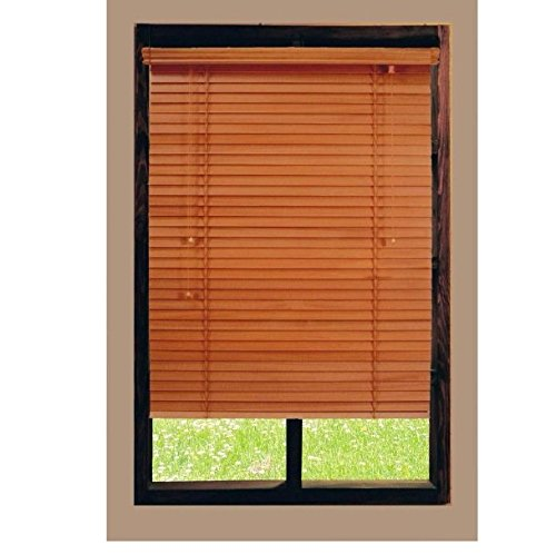 Golden Oak 2 in. Basswood Blind, 64 in. Length (Price Varies By Size)