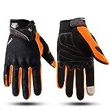 Qianliuk Touchscreen Motorrad Motocross Handschuhe Herbst Winter Wasserdicht Winddicht Warmer...