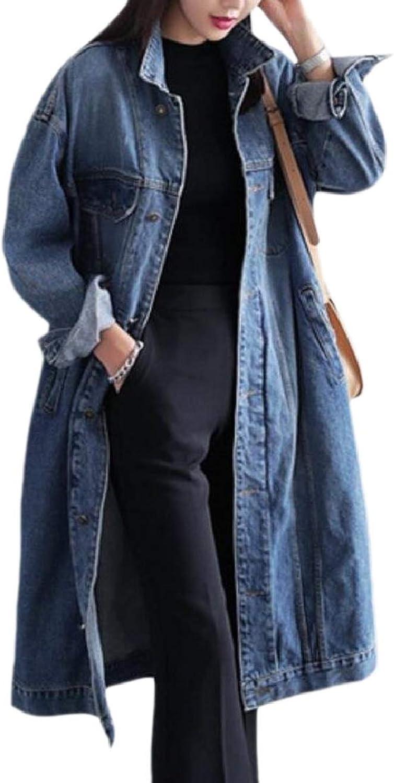 TymhgtCA Women Button Down Long Sleeved Windbreaker Jackets Distressed Jacket