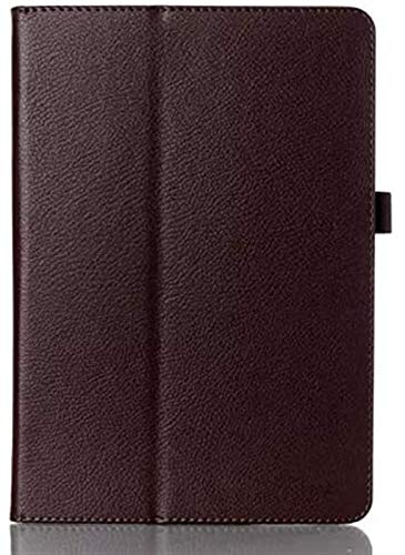 LCM Accesorios De Pestañas para Huawei MediaPad T3, Folio Premium PU Cuero Slim Soporte Tablet Funda con Función Auto Wake/Sleep para Huawei Mediéspad T3 10.0 Pulgadas (Color : Brown)