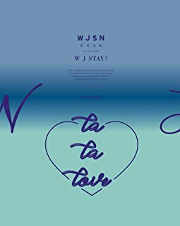 WJSN Cosmic Girls - WJ Stay? [I ver.] CD+Booklet+Official Photocard+Postcard+Folded Poster+Double-Side Photocards Set