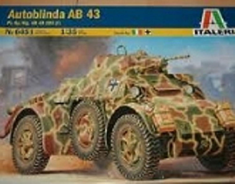 caliente ITALERI Kids Hobby Military Juguete Autoblinda Ab 43 43 43 - 556451 - 1 35 by Italeri  descuento de ventas en línea