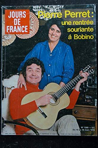 JOURS DE FRANCE 1265 1979 Mars * Pierre PERRET - Elton JOHN - Carmet et Lanoux - Jean-François DENIAU