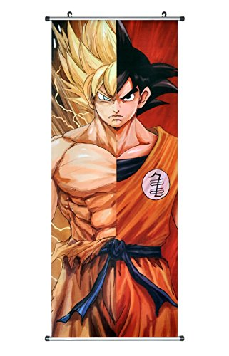 CoolChange Kakemono/Poster de la Serie Dragon Ball, Tema: Super Saiyajin