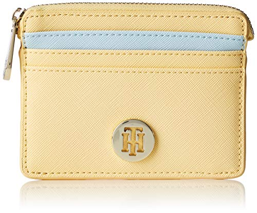 Tommy Hilfiger - Honey Cc Holder, Tarjeteros Mujer, Amarillo (Golden Haze), 1x9x12 cm (B x H T)