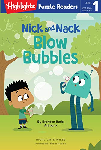Nick and Nack Blow Bubbles (Highlights Puzzle Readers) (English Edition)