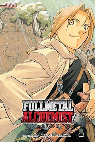 Fullmetal Alchemist (3-In-1 Edition), Volume 4: Includes Vols. 10, 11 & 12