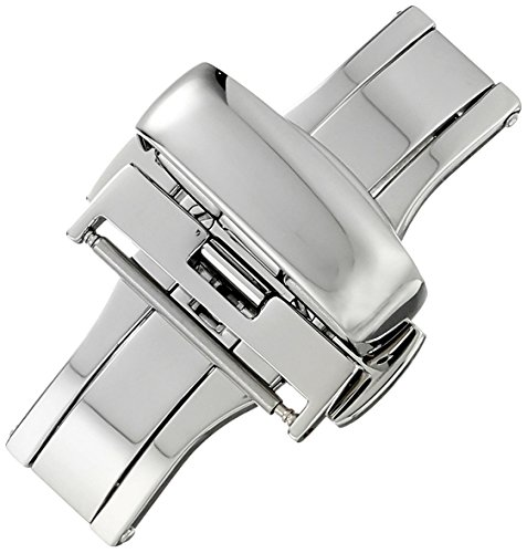 Hadley-Roma 18mm Stainless Steel Pu…